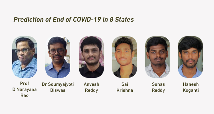 prediction of covid 19 end time