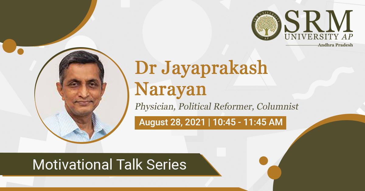 Dr Jayaprakash Narayan