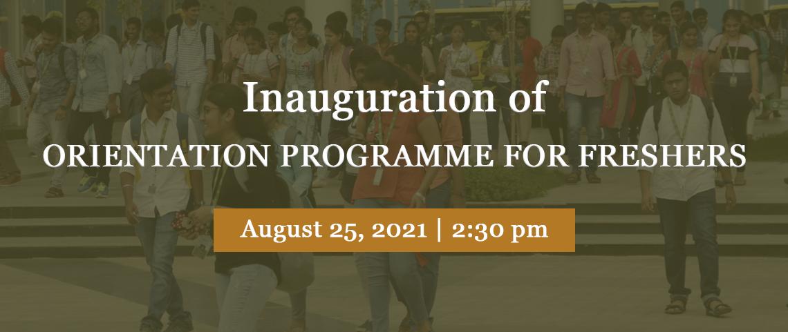 Freshmen Orientation Programme-2021